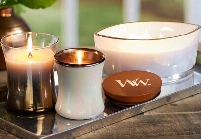 WoodWick Floral Night Collection