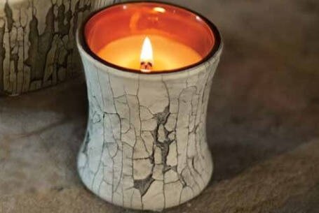Hourglass Candle