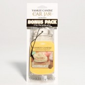Yankee Candle Vanilla Cupcake Car Jar 3-pack