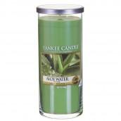 Yankee Candle Aloë Water Geurkaars Large Pillar Candle (140 branduren)