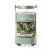 Yankee Candle Aloë Water Geurkaars Medium Pillar Candle (95 branduren)