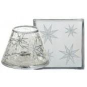 Yankee Candle Arctic Snowflake Small Shade & Tray
