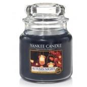 Yankee Candle Autumn Night Geurkaars Medium Jar