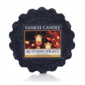 Yankee Candle Autumn Night Wax Tart