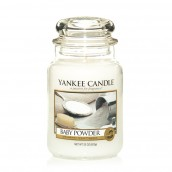 Yankee Candle Baby Powder Geurkaars Large Jar Candle (150 branduren)