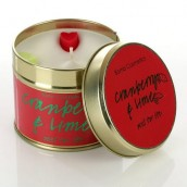 Bomb Cosmetics Cranberry and Lime Tinned Candle