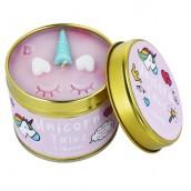 Bomb Cosmetics Unicorn Tales Tinned Candle