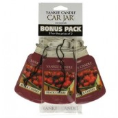 Yankee Candle Black Cherry Car Jar 3-pack