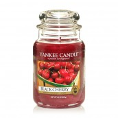 Yankee Candle Black Cherry Geurkaars Large Jar Candle (150 branduren)