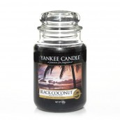 Yankee Candle Black Coconut Geurkaars Large Jar Candle (150 branduren)