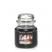 Yankee Candle Black Coconut Geurkaars Medium Jar Candle (90 branduren)