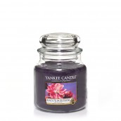 Yankee Candle Black Plum Blossom Geurkaars Medium Jar Candle (90 branduren)