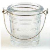 Yankee Candle Bucket Clear Votive Holder