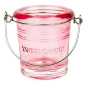 Yankee Candle Bucket Pink Votive Holder