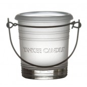 Yankee Candle Bucket Frosted Votive Holder