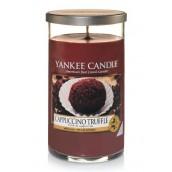 Yankee Candle Cappuccino Truffle Geurkaars Medium Pillar Candle (95 branduren)