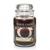 Yankee Candle Cappuccino Truffle Geurkaars Large Jar Candle (150 branduren)
