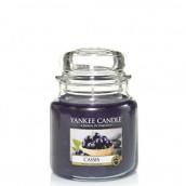 Yankee Candle Cassis Geurkaars Medium Jar Candle (90 branduren)