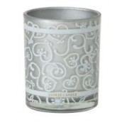 Yankee Candle Celebration Silver Votive Holder