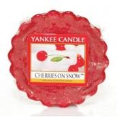 Yankee Candle Cherries on Snow Wax Tart