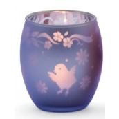 Yankee Candle Chick Tea Light Holder Purple