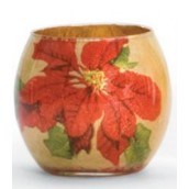 Yankee Candle Christmas Flower Votive Holder
