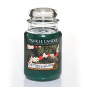 Yankee Candle Christmas Garland Geurkaars Large Jar Candle (150 branduren)