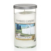Yankee Candle Clean Cotton Medium Pillar