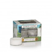 Yankee Candle Clean Cotton Tea Lights (6 branduren)