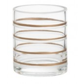 Yankee Candle Copper Elegance Votive Holder - Copper & Clear