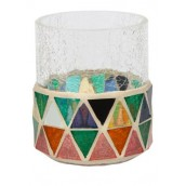 Yankee Candle Corsica Mosaic Votive Holder