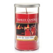 Yankee Candle Cosy By the Fire Medium Pillar