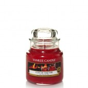 Yankee Candle Cosy By The Fire Geurkaars Small Jar Candle (40 branduren)