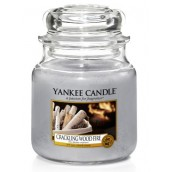 Yankee Candle Crackling Wood Fire Medium Jar