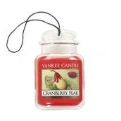 Yankee Candle Cranberry Pear Car Jar Ultimate