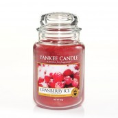 Yankee Candle Cranberry Ice Geurkaars Large Jar Candle (150 branduren)