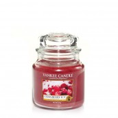 Yankee Candle Cranberry Ice Geurkaars Medium Jar Candle (90 branduren)