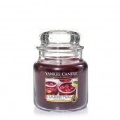 Yankee Candle Cranberry Twist Geurkaars Medium Jar Candle (90 branduren)