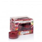 Yankee Candle Cranberry Twist Tea Lights (6 branduren)