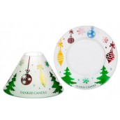 Yankee Candle Deck the Halls Large Shade & Tray