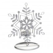 Yankee Candle Dreams Crackle Glass Votive Holder - Metal