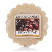 Yankee Candle Ebony And Oak Wax Tart
