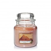 Yankee Candle Egyptian Musk Geurkaars Medium Jar Candle (90 branduren)