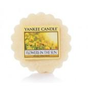 Yankee Candle Flowers in the Sun Wax Tart (8 Geururen)