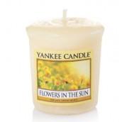 Yankee Candle Flowers in the Sun Geurkaars Votive Sampler (15 branduren)