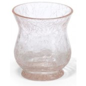 Yankee Candle Flute Crackle Votive Holder - Pink