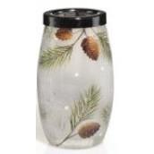 Yankee Candle Forest Elegance Crackle Large Tea Light Holder
