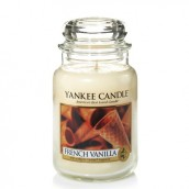 Yankee Candle French Vanilla Geurkaars Large Jar Candle (150 branduren)