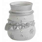 Yankee Candle Fun Outside Snowmen Tea Light Holder