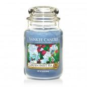 Yankee Candle Garden Sweet Pea Geurkaars Large Jar Candle (150 branduren)